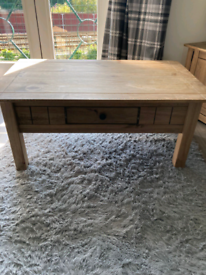 Pine TV Unit & Coffee Table