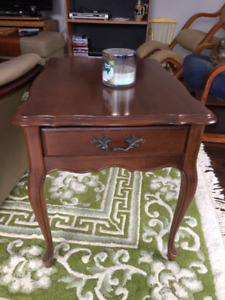 Solid Fruitwood Coffee and End Tables