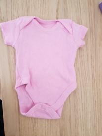 Pink Babygrow Nutmeg Size Tiny Baby - New 👶