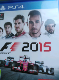 PS4 F1 2015 Racing Game