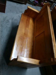Trss beau banc église bois bonne état