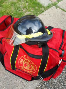 Firefight  gear and bag almost new also uniform