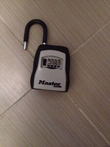 MasterLock portable lock safe