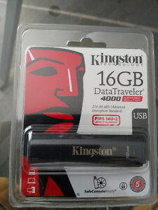Kingston Data traveler 4000  16 GB   USB, encrypted