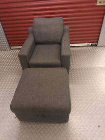 DWELL ANKARA DESIGNER ARMCHAIR LOCAL DELIVERY AVAILABLE