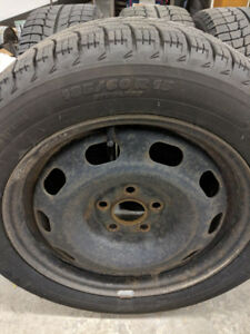 Snow tires on rims - negotiable