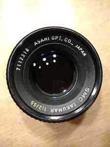 Asahi SMC Takumar 55mm f2 MINT