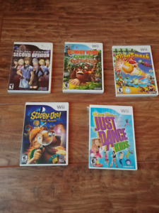 Wii games // Jeu pour Wii