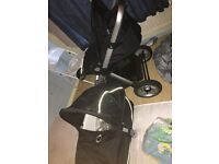 Icandy Apple buggy and carry cot