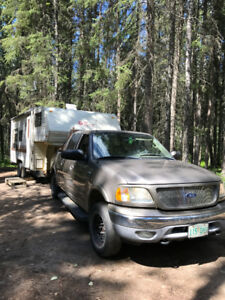2003 F-150 and 1987 21.5 ft 5th wheel as a unit or separately
