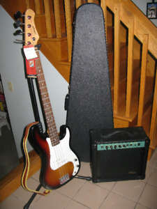 Stagg bass guitare