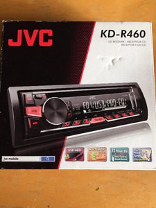 JVC KD-R460 Car CD Receiver With Remote