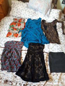 5 Womens/Teens Dresses + one Skirt