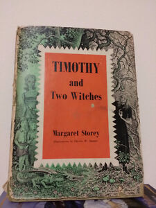 ▀▄▀Timothy and the Two Witches 1966 HC/DJ