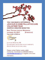 Hospice Volunteer training for Home Palliative Care