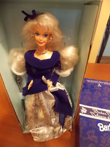 "AN AVON EXCLUSIVE "" WINTER VELVET ""  BARBIE DOLL"