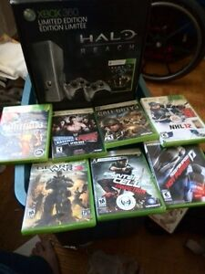 XBOX360 LIMITED EDITION 250 GIG HARD DRIVE  WITH GAMES $150.00 Kingston Kingston Area image 2