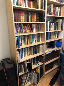 IKEA Tall BILLY Bookcase with extra shelf