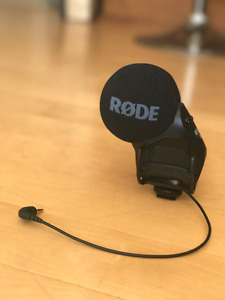 Rode Stereo VideoMic Pro - Used only onced