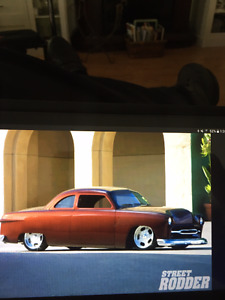 Wanted info. Red 50 Ford chopped  coupe  Van .Island