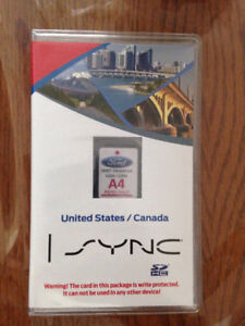 Ford navigation SD Card A4