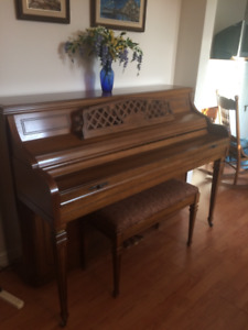 FREE Piano - Kimball Upright Piano with bench