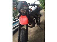 50cc Derbi Senda X-Race Black/Red