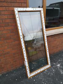 2 PVC Windows Triple glazing