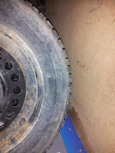 """Selling 4 195/65 R15 Winter Tires with 5x100 (4"""") rims Kitchener / Waterloo Kitchener Area image 2"""
