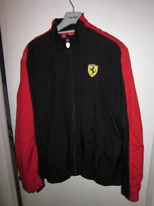 AUTHENTIC MENS PUMA FERRARI SCUDERIA TRACK JACKET