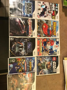 Various Games for Wii