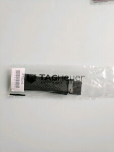 Tag Heuer Connected Black Rubber Watch Strap NEW