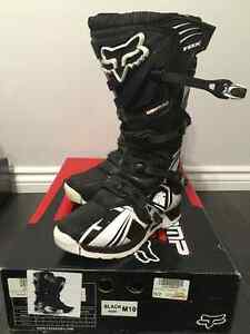 FOX MOTOCROSS BOOTS SIZE 10