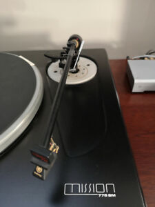 Mission Turntable  775SM and 774 Arm with Goldring Cartridge