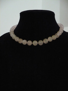 Pink Quart Necklace