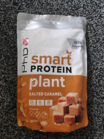 PHD plant vegan protein powder with free shaker