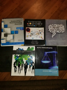 Office Administration Textbooks for NSCC