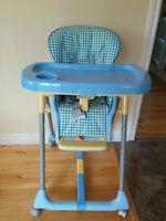 High chair / chaise haute Peg Perego