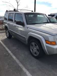 2007 JEEP COMMANDER 7 PASSENGER