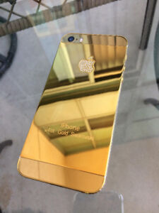 iPhone 5S 16GB Gold Plated - Unlocked