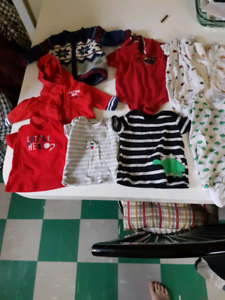 Boys Newborn and 0-3 months clothing