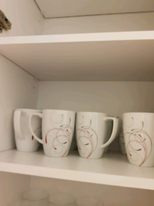 Corning mugs (square pattern)