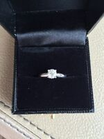 Stunning 0.51CT Diamond Engagement Ring