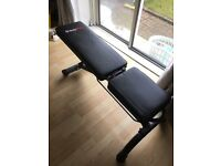 Adjustable Weight exercise bench