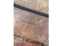 Scaramanga vintage satchel