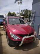 2010  ssangyong actyon sports ute,. Rwd - unregistered Clontarf Redcliffe Area Preview