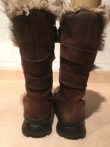 Women's Columbia Tall Leather Winter Boots Size 11 London Ontario image 3