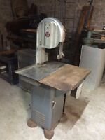 Antique band saw