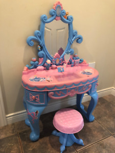 Cinderella Makeup table and stool