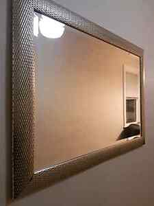 Large mirror with thick border